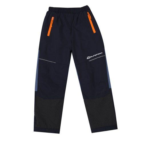 Dětské šusťákové kalhoty s fleecem  17f3b58bc6